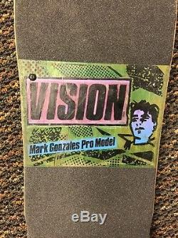 Vision Mark Gonzales Pro Model Skateboard Deck Vintage 1985