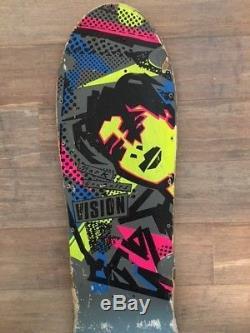 Vision Skateboard Deck Mark Gonzales 1980's Vintage Original