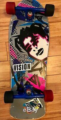 Vision Skateboard deck Mark Gonzales Pro Model Vintage 1985