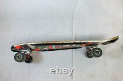 Vtg1980s Vision Shredder 10 Concave Skateboard Deck Black Shredders Independent