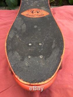 Vtg Original Powell Peralta Skateboard Skull Bones Rare Deck Mcgill Vision