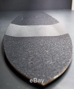 WeFunk Roadmaster #4 carbon fiber longboard handmade in Germany RARE