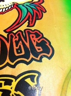 Wes Humpston Bulldog Skates Bleeding Heart Multi Color Deck Signed Wes Humpston