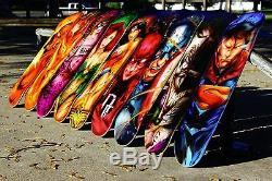 Wonder Woman Skate Deck ORIGINAL Graffiti Comic Art