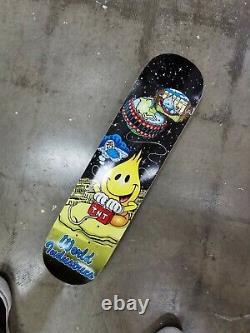 World Industries Flame Boy Vs Wet Willie Skateboard Deck mid 2000s