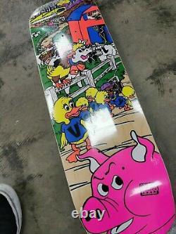 World Industries Mike Vallely Barn Yard Skateboard deck Reissue Powell Peralta