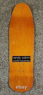 World Industries Randy Colvin Censorship Prime Reissue Skateboard Deck McKee Art