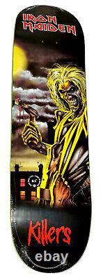 ZERO x IRON Maiden Killers Skateboard Deck 8.5 Limited Edition