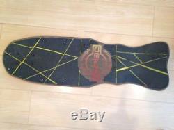 ZORLAC Vintage skateboard deck design skull bone Skate board