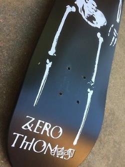 Zero Jamie Thomas Skeleton Pro Model Skateboard Deck Vintage