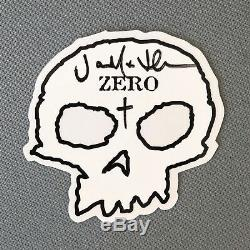 Zero Lopez'Pushead' Sample signed by Adrian Lopez & Jamie Thomas RARE