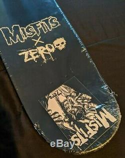 Zero Skateboard Deck Misfits BULLET 8.0 Second Edition Limited to 300
