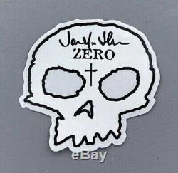 Zero X Misfits Fiend Skull Shaped Deck Signed by Jamie Thomas 1st Ed
