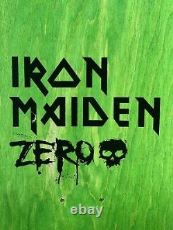 Zero x Iron Maiden Aces High 1st Production Sample Deck Signed by Jamie Thomas