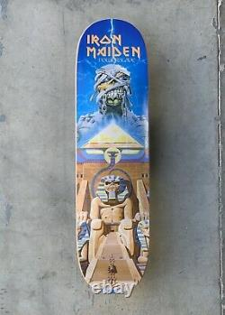 Zero x Iron Maiden Powerslave 1st Production Sample Deck Signed by JT