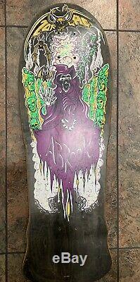 Zorlac Abrook Skateboard Deck 1988 Mint