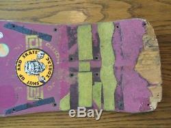 Zorlac Devil fish Skateboard Deck Vintage
