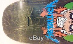 Zorlac Mega Metallica 1990 Pushead Skateboard Deck