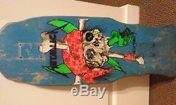 Zorlac Metallica Pirate Pushead Not Mint Skateboard Deck