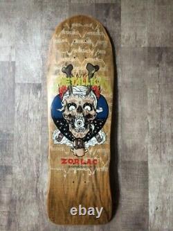 Zorlac Metallica Skateboard