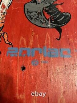 Zorlac skateboard deck Metallica