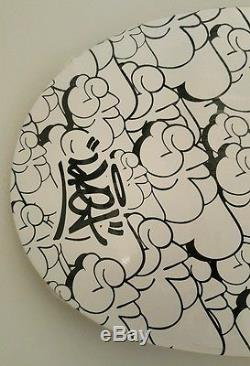 (sealed) Sket One 2006 Skateboard Deck'throwie' Graffiti Art Skate Rare Dunny
